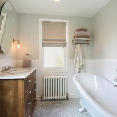 historic bathroom renovation