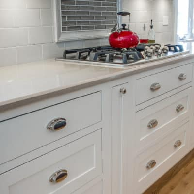 cooktop featured in new kitchen